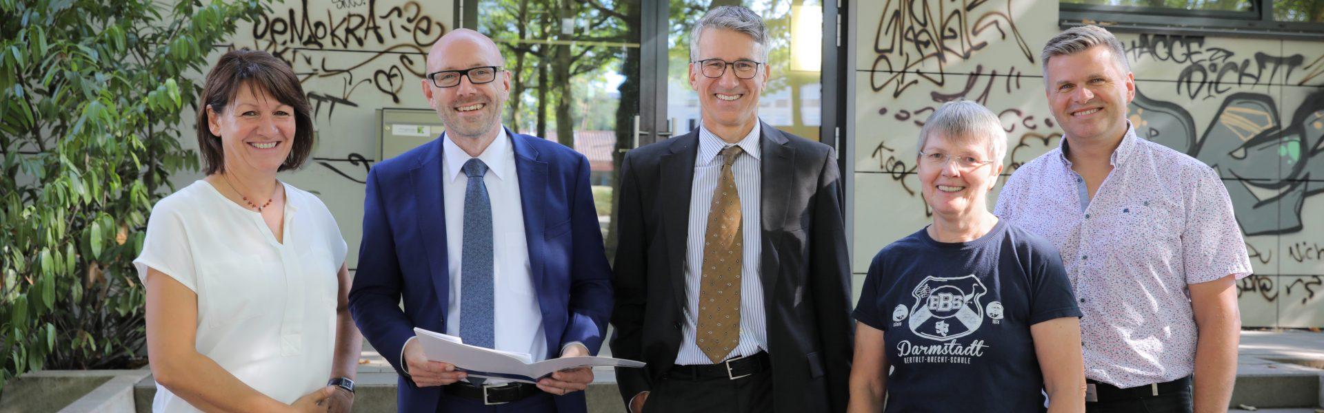 Header Bild Mornewegschule ist neue Patenschule der HEAG