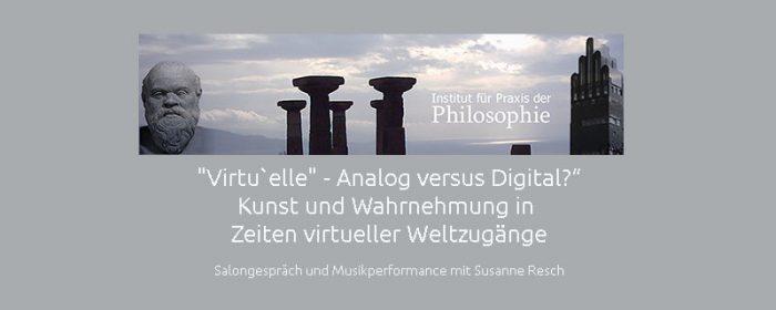 Philosophischer Salon im Literaturhaus