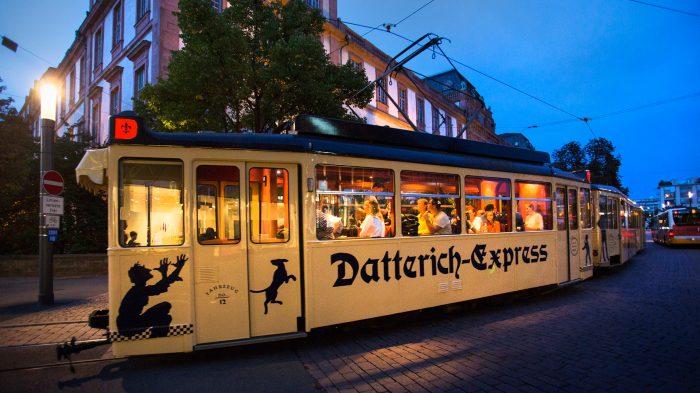 Im Advent mit dem Datterich-Express auf Glühwein-Tour