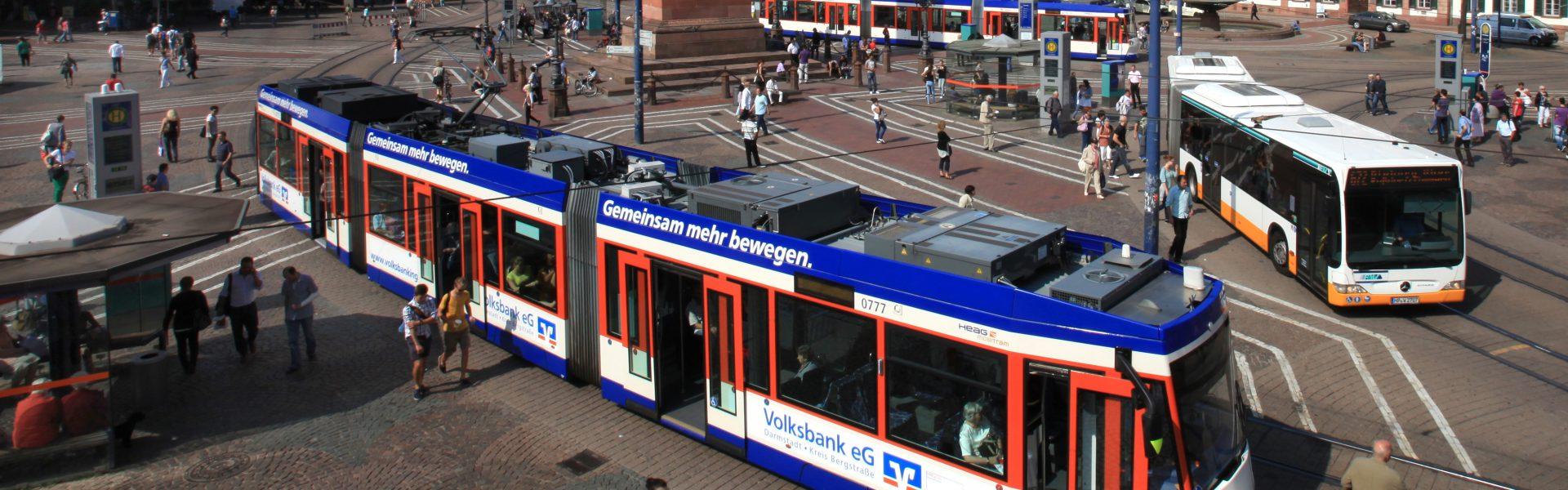 Header Bild HEAG mobilo: Ab Montag (23.3.) Samstagsfahrplan ohne Nachtfahrten