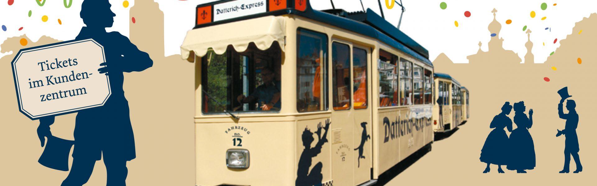Header Bild Mit dem Datterich-Express auf Kreppel-Tour