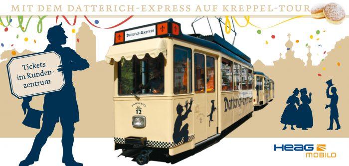 Mit dem Datterich-Express auf Kreppel-Tour
