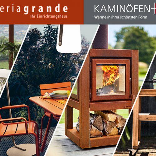 Kaminöfen-Design auch mit Outdoor-Grills