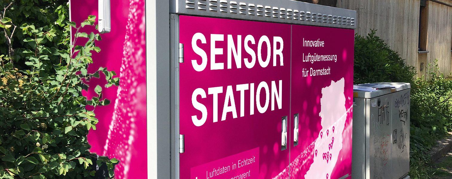 Header Bild Digitalstadt Darmstadt und Deutsche Telekom AG bauen Deutschlands erstes digitales Messnetz für Luftschadstoffe