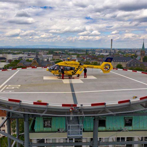 Klinikum Darmstadt Hubschrauberlandeplatz