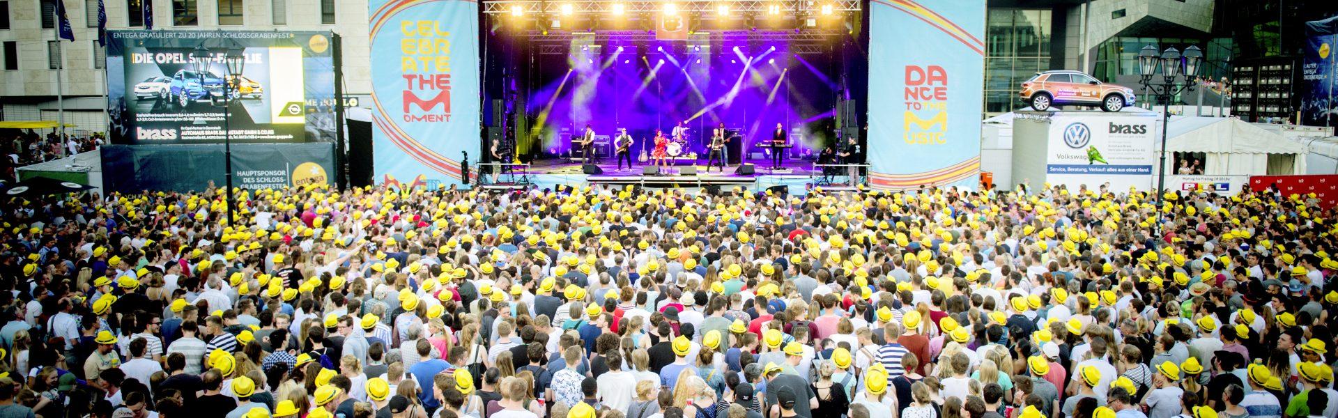 Header Bild Gewinnspiel: VIP-Tickets für das Schlossgrabenfest