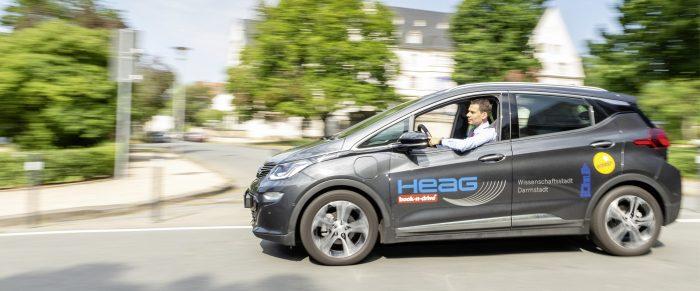 Carsharing im Städtevergleich: Darmstadt belegt bundesweit Platz 9