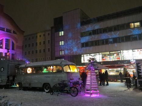 Heiligs Blechle: Foodtruck-Weihnachtsmarkt im Carree