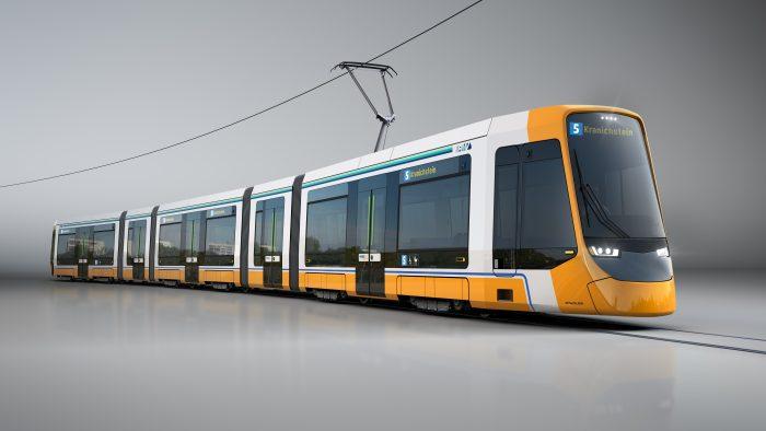 HEAG mobilo und Stadler unterzeichnen Vertrag für 14 neue Straßenbahnen