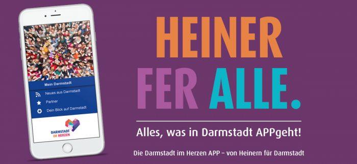 Darmstadt im Herzen APP Heiner Nachbarschaft HEAG