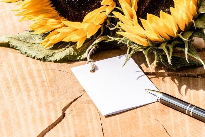 bauverein AG spendet und ruft zum Schreiben von Frühlingsgrüßen auf