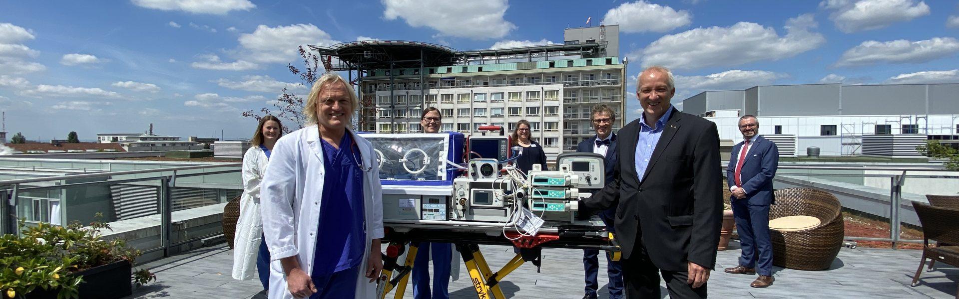 Header Bild Neuer Transportinkubator für Klinikum Darmstadt