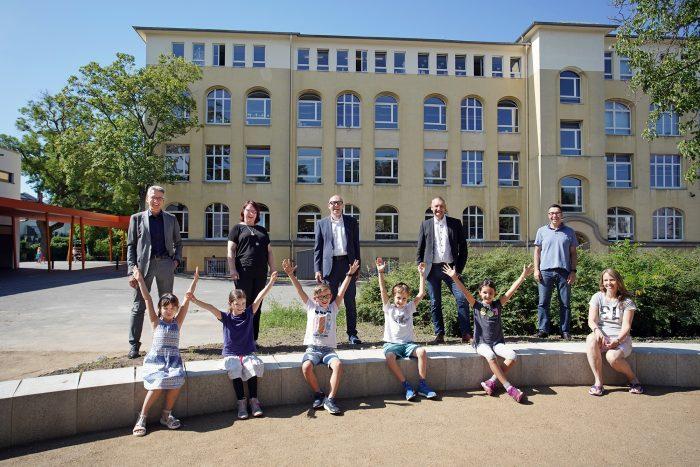 Ein Außenklassenzimmer für die Mornewegschule