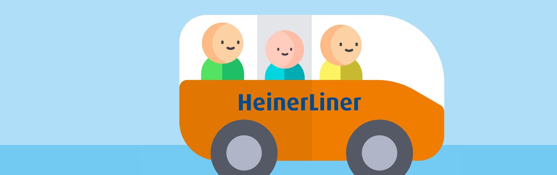 Header Bild HeinerLiner startet in die Testphase