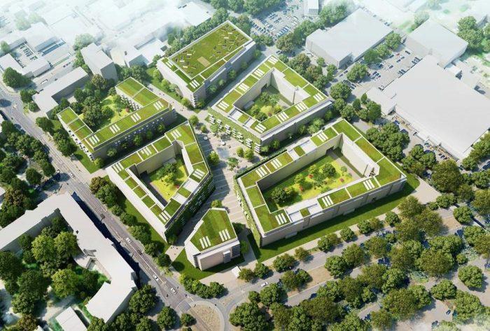 bauverein AG entwickelt neues Quartier auf dem Darmstädter Messplatz