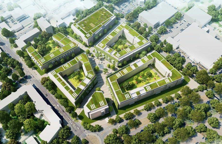 Header Bild bauverein AG entwickelt neues Quartier auf dem Darmstädter Messplatz