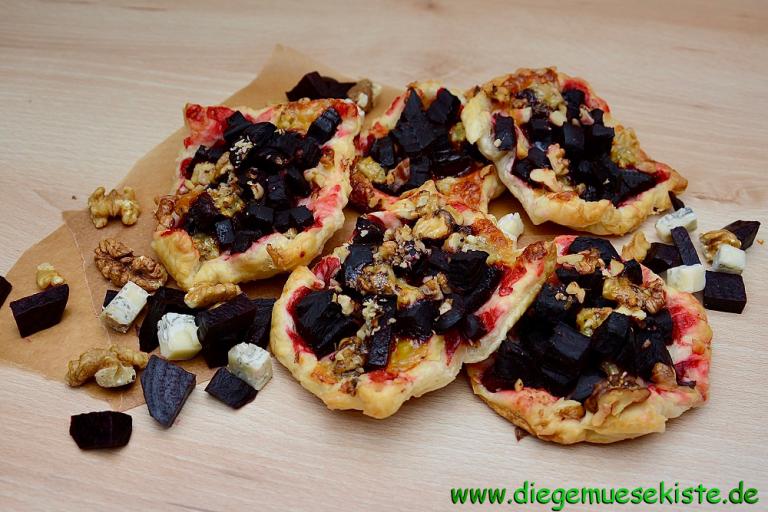 Header Bild Rezepttipp von der Gemüsekiste: Rote-Bete Körbchen