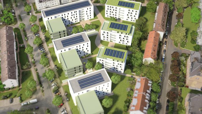 Start für Bauvorhaben in der Moltkestraße 3-19