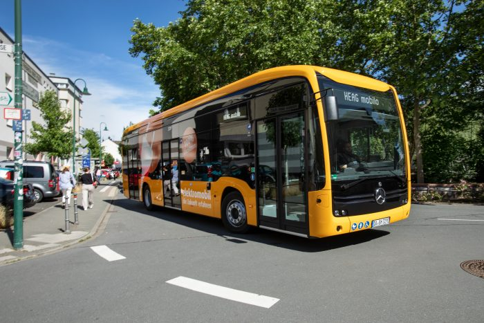 HEAG mobilo bestellt 24 Elektrobusse