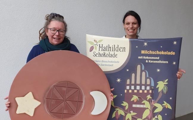 Darmstadt hat jetzt eine eigene Schokolade: Die Mathilden-Schokolade