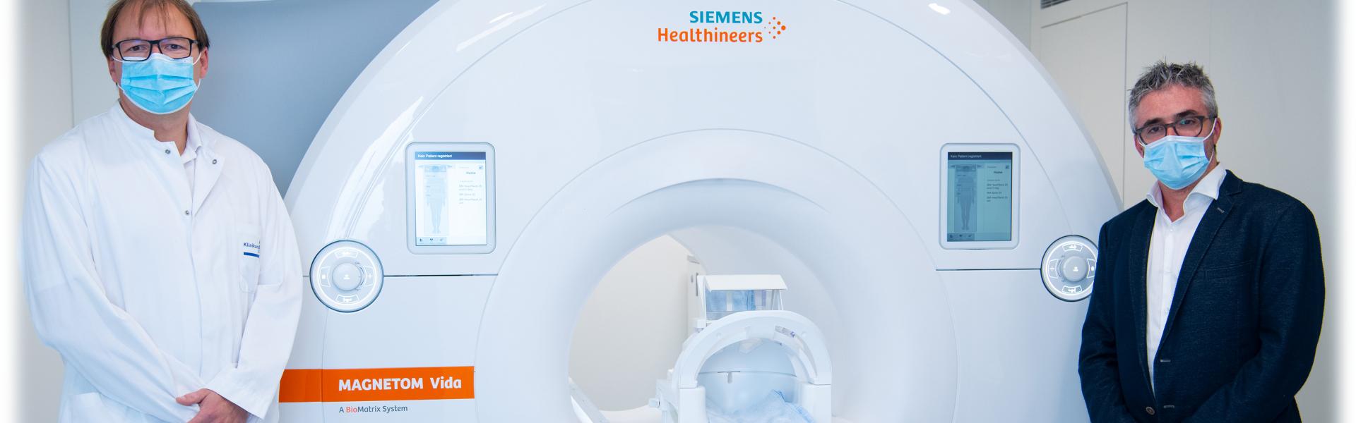 Header Bild Klinikum nimmt neues MRT-Gerät in Betrieb