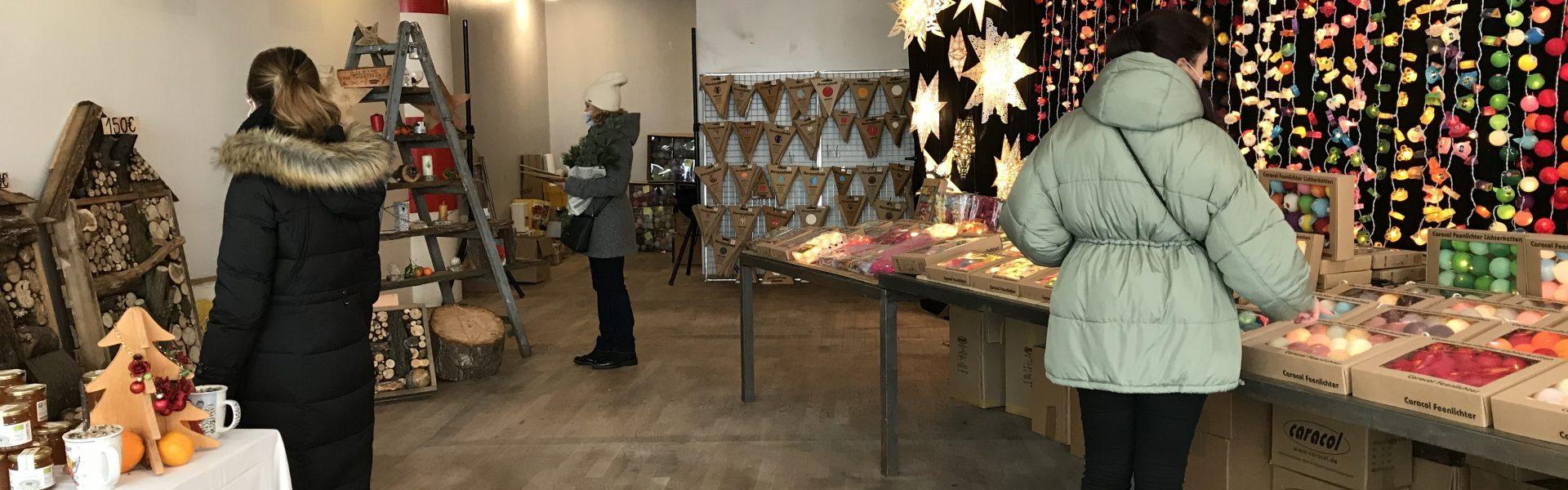"""Header Bild Initiative """"einLADENd"""" eröffnet ersten Weihnachts-Pop-Up-Store"""