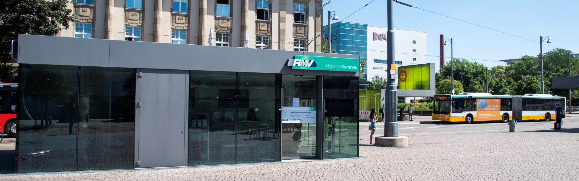 Header Bild 15 Jahre Darmstädter RMV-Mobilitätszentrale