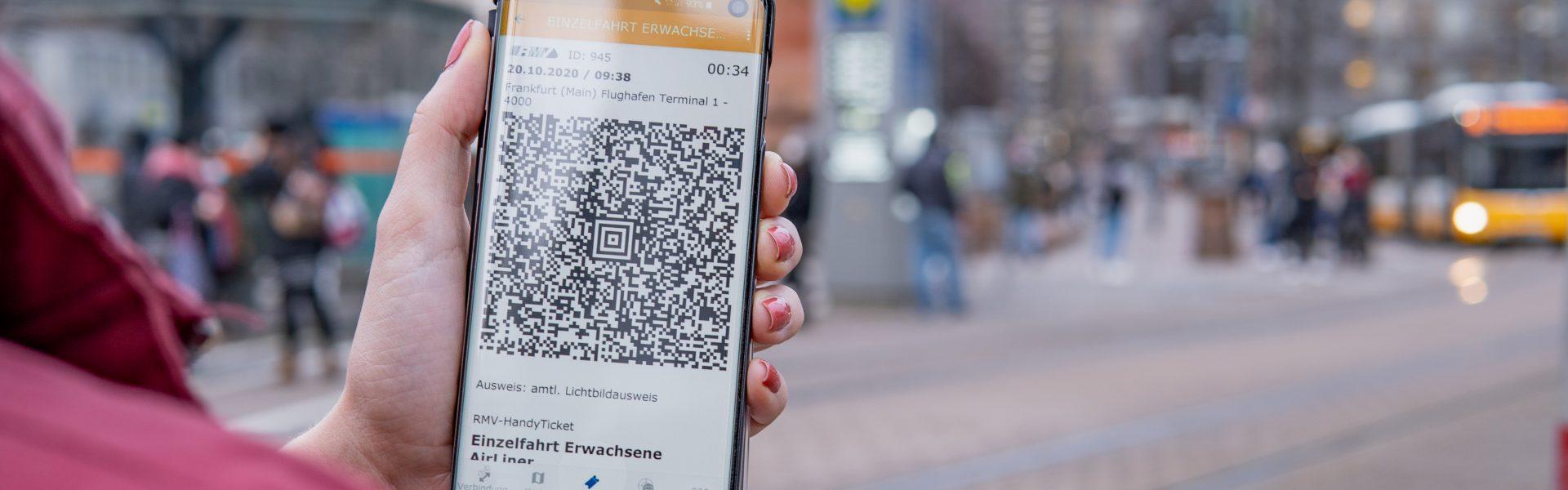 Header Bild Die HEAG mobilo-App jetzt auch mit Handyticket