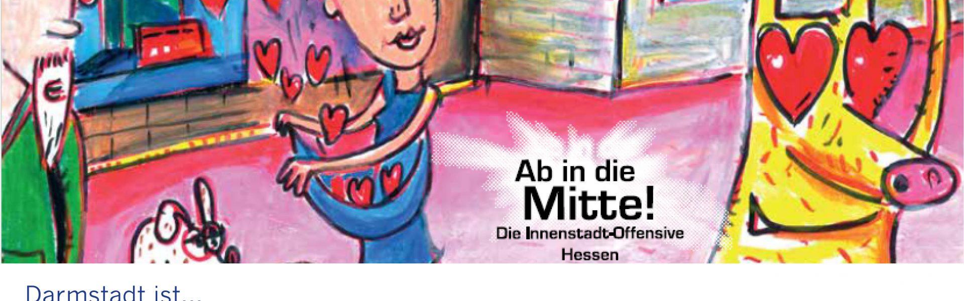"""Header Bild Darmstadt punktet beim Landeswettbewerb """"Ab in die Mitte!"""""""