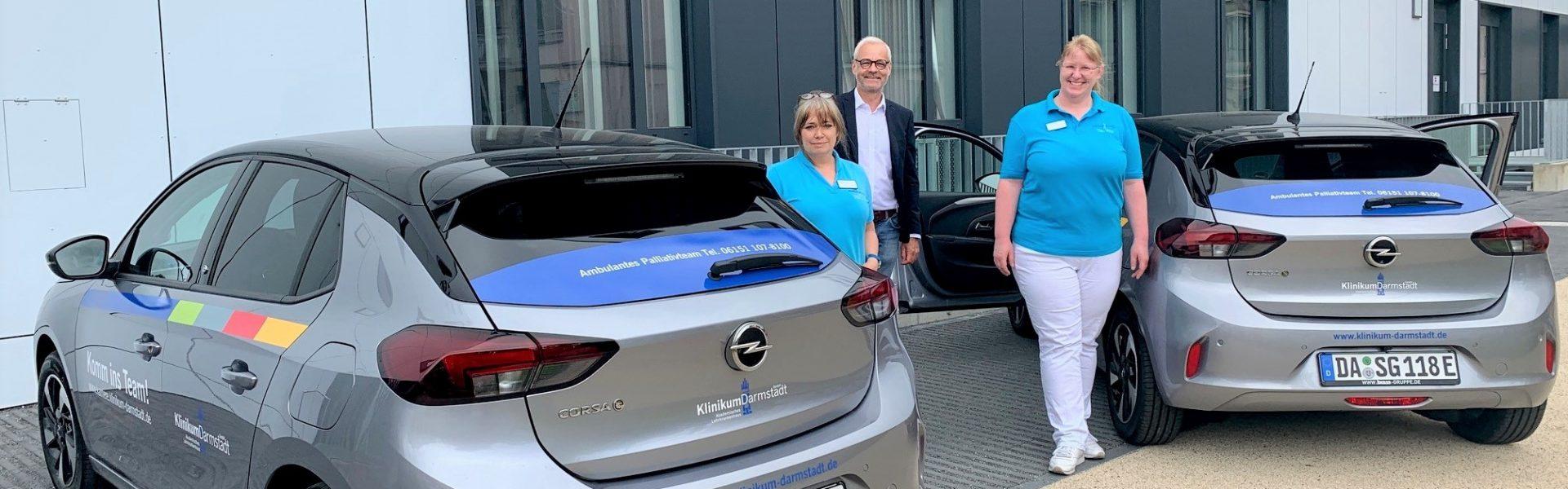Header Bild Klinikum Darmstadt setzt mit E-Autos auf Nachhaltigkeit und Klimaschutz