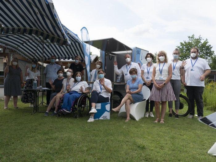 Erfolgreicher Auftakt des mobilen Digitalen Stadtlabors Darmstadt im EDW