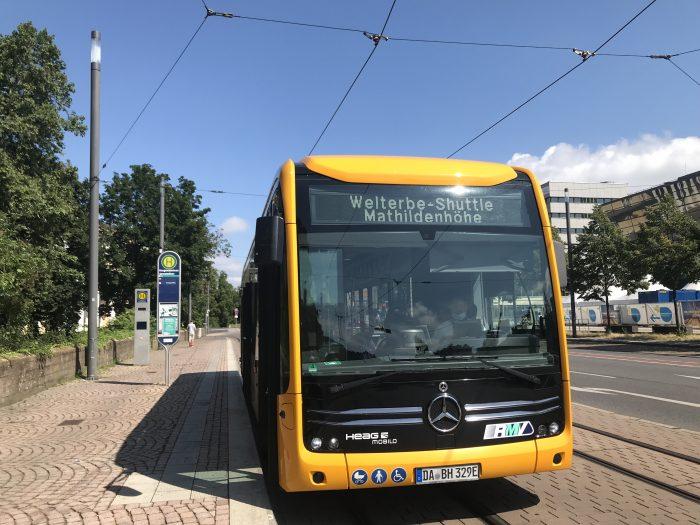 Welterbe-Shuttle Mathildenhöhe Darmstadt