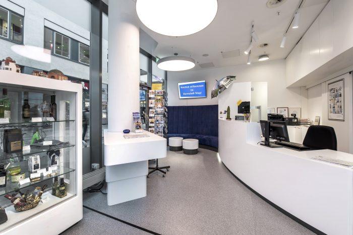 """Darmstadt Shop vom Verband ausgezeichnet: """"Geprüfte Tourist Information"""""""